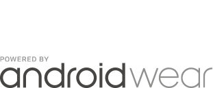 POWERED BY androidwear